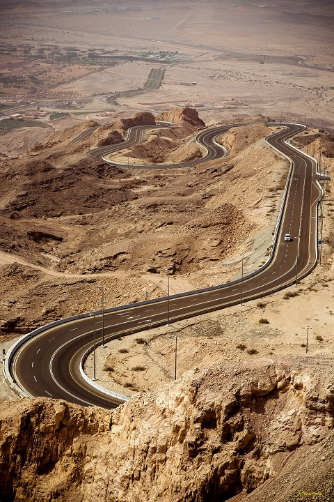 Scenic Highways Jebel Hafeet Mountain Road