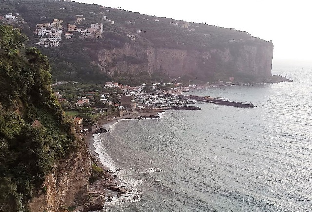Marina di Equa Beach in Sorrento