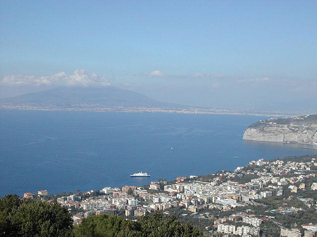 Sorrento on the Bay of Naples