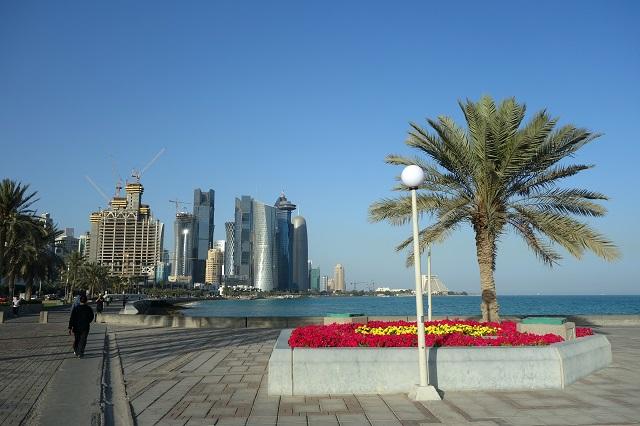 Corniche in Doha