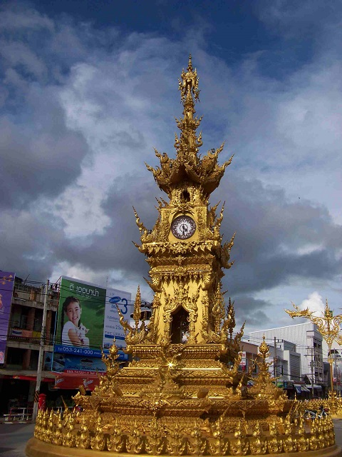 Tourist attractions in Thailand Chiang Rai