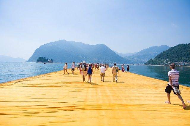 Floating Pier of Lake Iseo