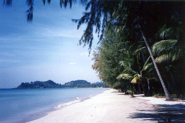 Tourist attractions in Thailand Koh Chang Island