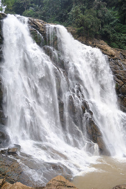 Meenmutty Waterfalls, Kerala