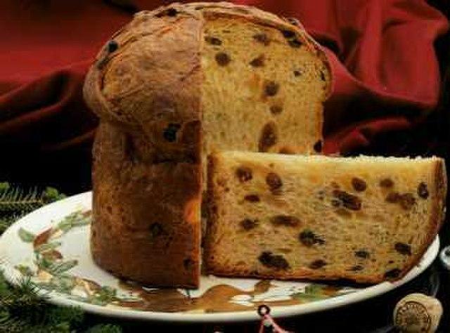Milan shopping Panettone cake