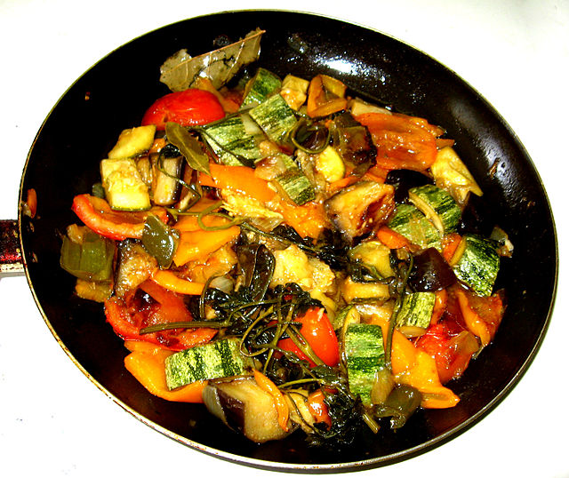 Ratatouille, French food in Puducherry
