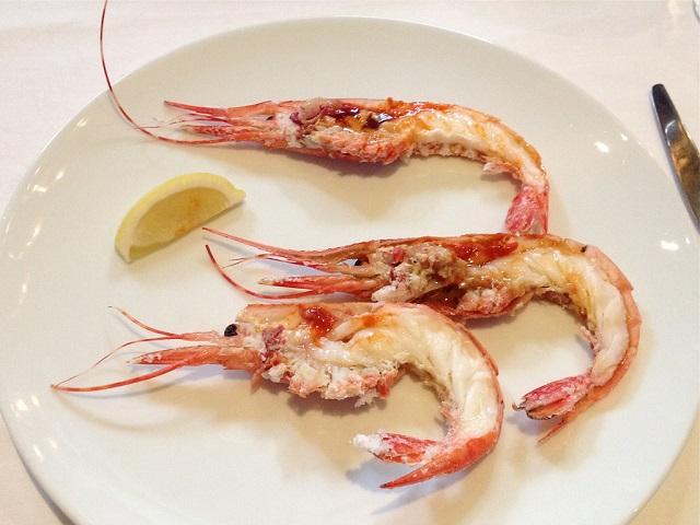 Seafood in Las Vegas Spot Prawns