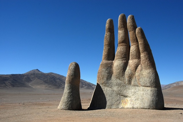 The Hand in the Desert