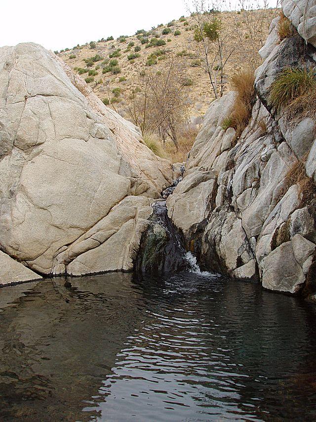 California Deep Creek Hot Springs USA