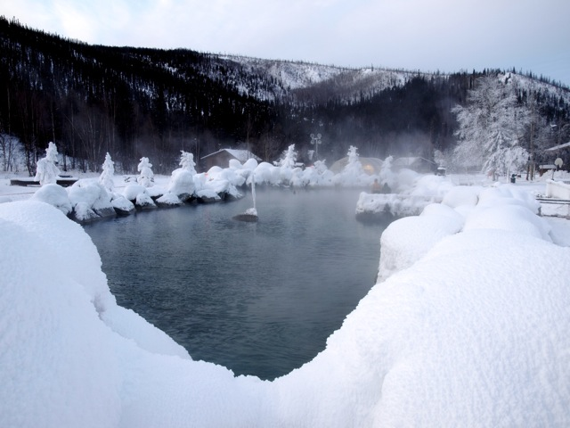 Chena hot springs, Alaska