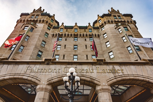 Ottawa Attractions Fairmont Chateau Laurier