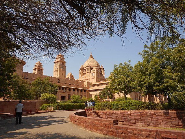 Jodhpur best places to visit Umaid Bhavan Palace