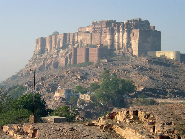 Jodhpur tourist places list Mehrangarh Fort