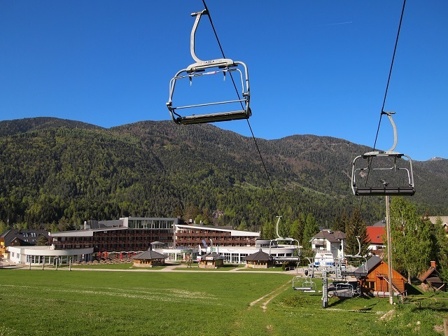 Kranjska Gora Ski Resort, Slovenia