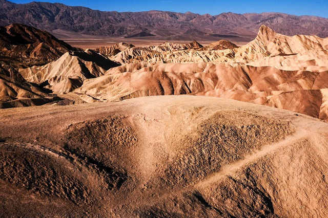 Places Below Sea Level Death Valley