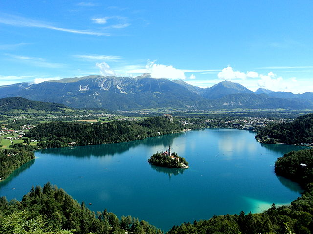 Slovenia Travel Attraction Lake Bled