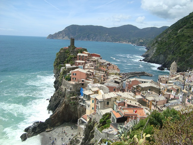 Cliffside City Vernazza, Italy