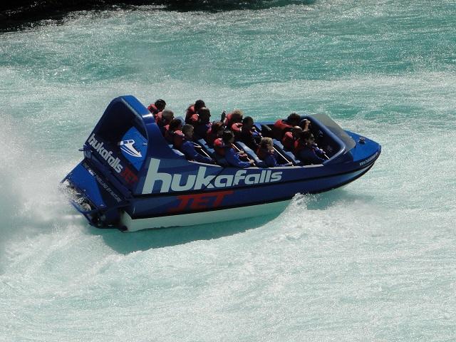 Huka waterfalls rafting