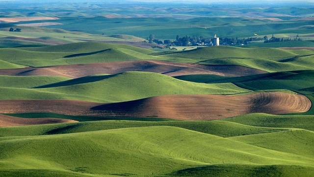 Palouse Prairie Most Beautiful Places in America