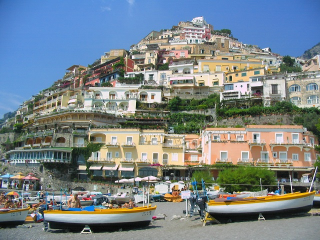 Positano Exquisite Ciffside City in Italy
