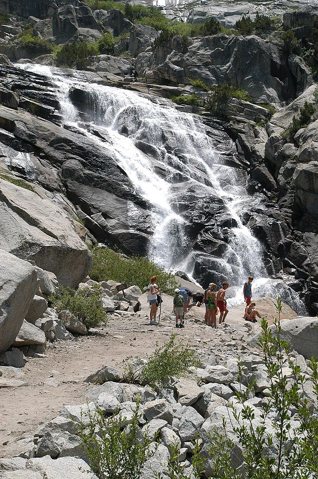 Most Beautiful Places in America Tokopah Waterfalls