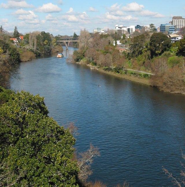 Waikato River, Putaruru New Zealand