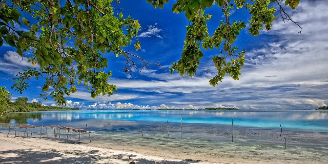 Widi Islands of Indonesia