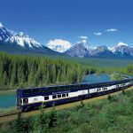 Take A Breathtaking Train Tour in The Canadian Rockies