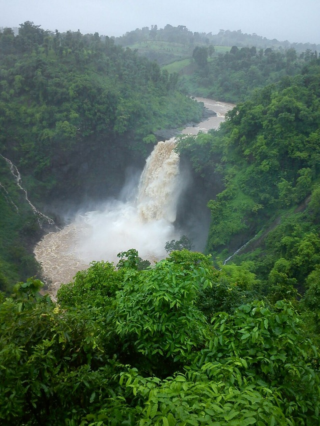 Dabhosa Waterfalls near Mumbai