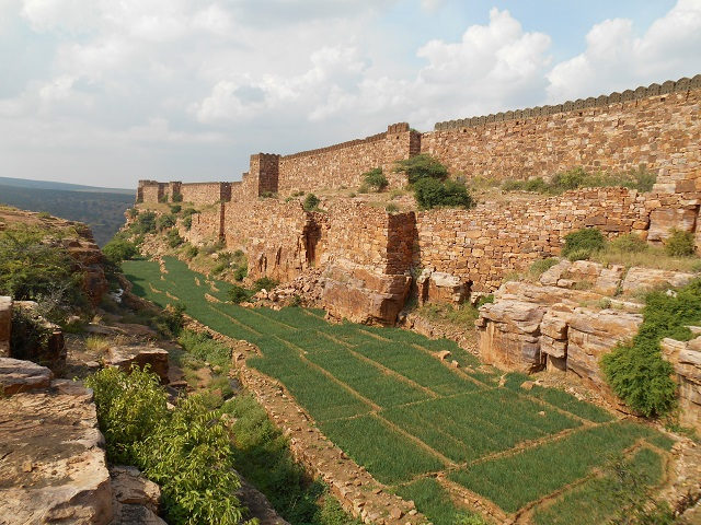 Gandikota Canyon Fort