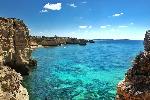 Things to do in Algarve  Praia da Marinha