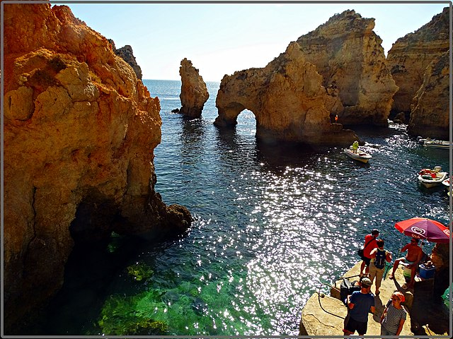 Things to do in Algarve Rocks of Ponta da Piedade