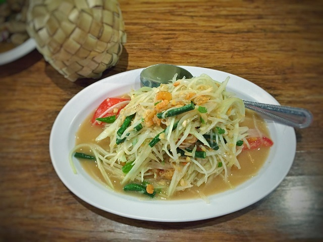 Vegetarian Thai Food Som Tam