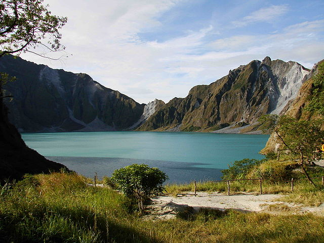 Most Beautiful Lakes in the World Lake Pinatubo, Philippines
