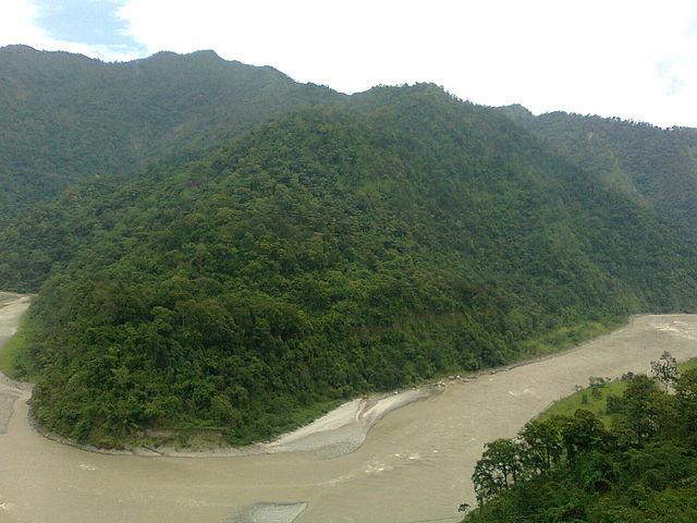 Scenic Teesta River