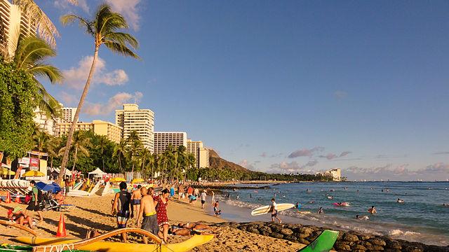 Honolulu Attractions- Waikiki Beach