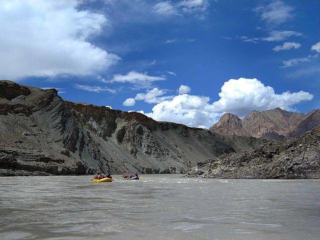 White Water Rafting in India, Ladakh