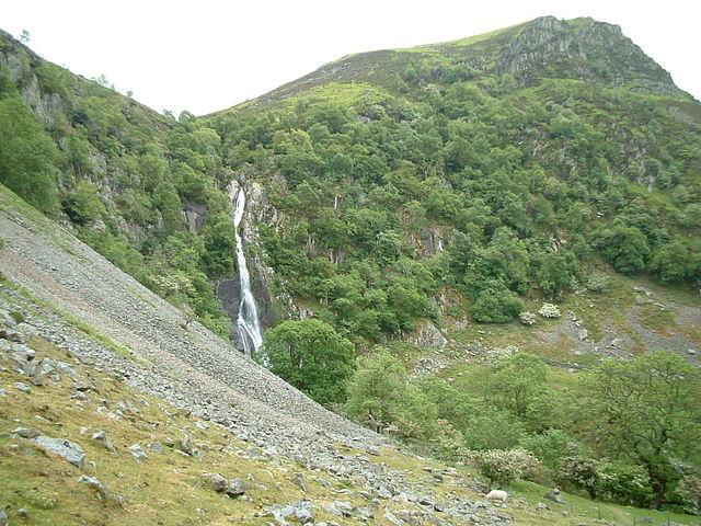 Things to Do in Wales Aber Falls