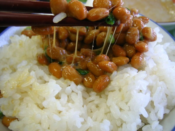 Vegetarian Japanese Food Natto