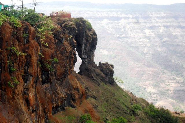 Hill Stations in Maharashtra Needle hole rock