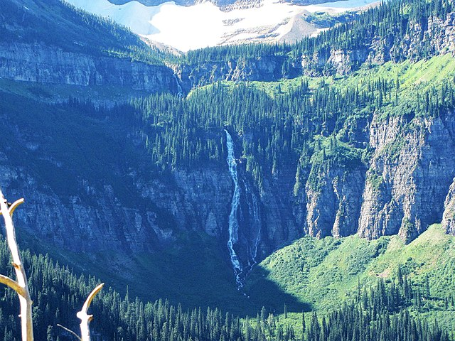 Bird Woman Waterfalls Montana Attractions