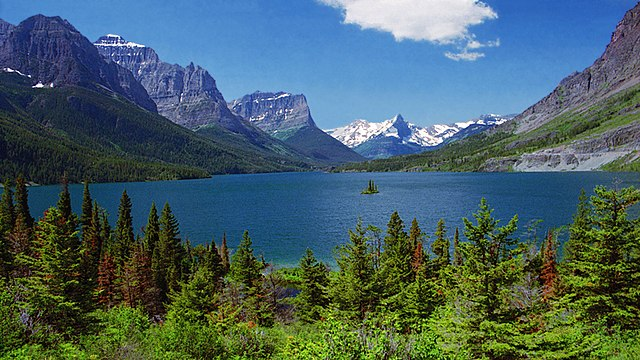 Montana Attractions St.Mary Lake