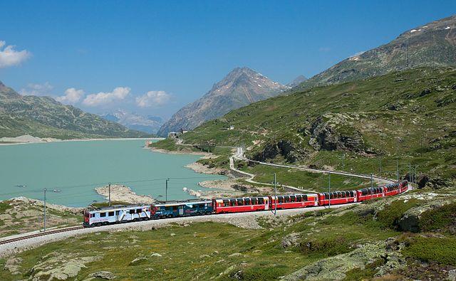 Bernina Express Scenic Train Rides