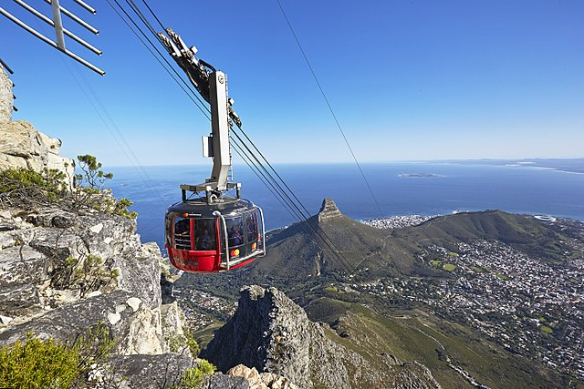 Best Things to Do in Cape Town- Cable Car ride Table Mountain