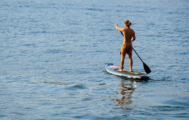 Standup paddle-boarding