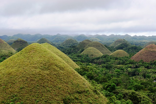 Affordable Tropical Vacation Destinations Chocolate Hills Bohol