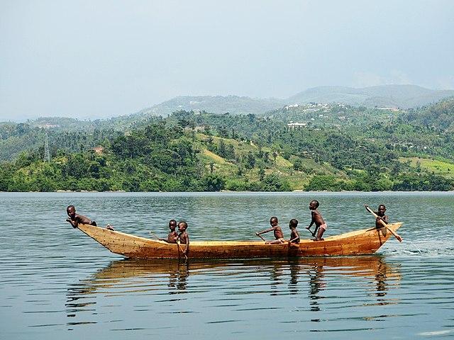 Lake Kivu, Congo