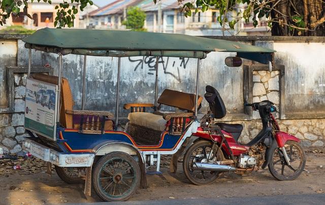Tuk-Tuk, Cambodia
