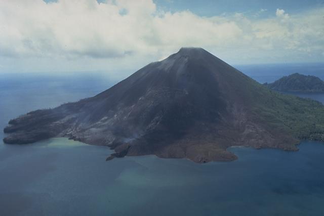 dormant volcano