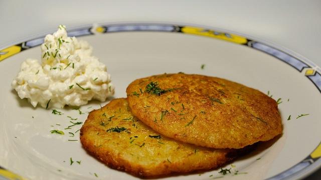 Rajasthani Snack Bajra and Potato Pancake